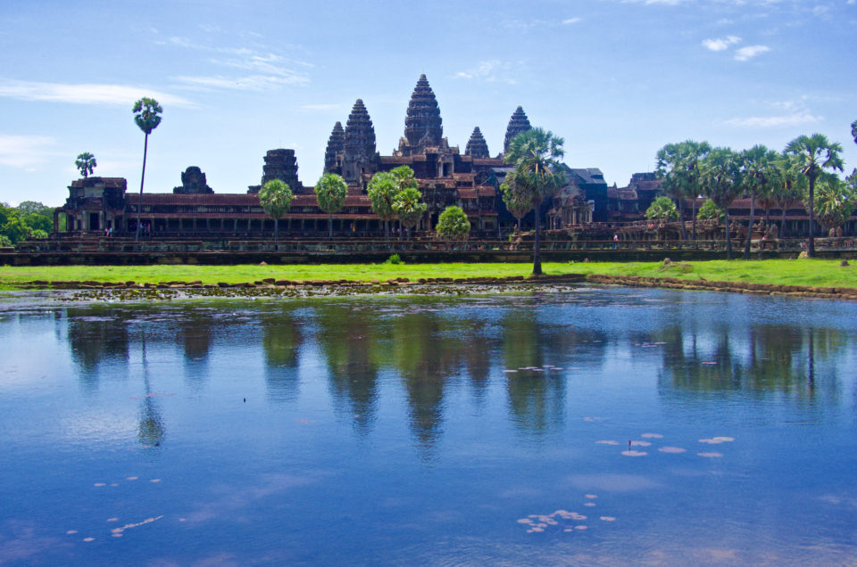 Phnom Penh is today's capital, but it used to all be Angkor